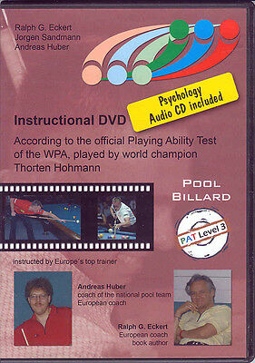 IPAT LEVEL 3 DVD - Advanced to Pro Level Pool Players - Hohmann - PLAY STRONG!