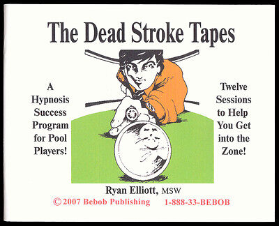 DEAD STROKE CD SET - hypnosis for POOL Players - TWELVE Powerful Sessions!