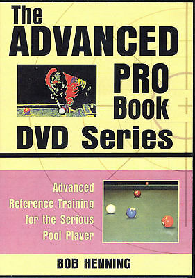 ADVANCED PRO BOOK DVD Set - Serious POOL Training for Competitive Players!