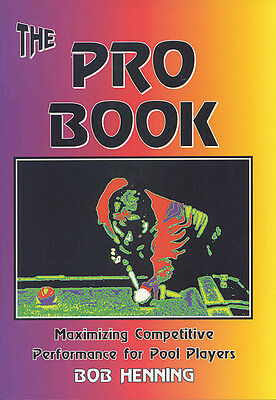 PRO BOOK - Maximizing Competitive Performance for Pool Players - IMPROVE FAST!