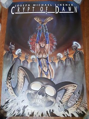 ~~ Hard To Find! ~ Linsner ~ Crypt Of Dawn  Poster  ~~