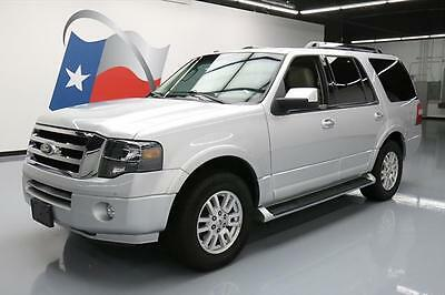 2012 Ford Expedition Limited Sport Utility 4-Door 2012 FORD EXPEDITION LIMITED 8-PASS REAR CAM DVD 75K MI #F41708 Texas Direct