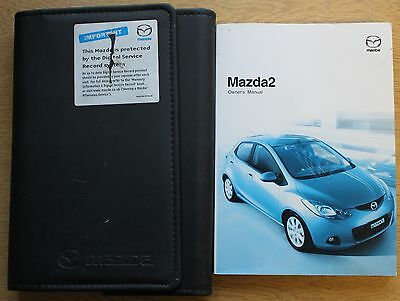 Mazda 2 Handbook Owners Manual Wallet 2007-2010 Pack 11607