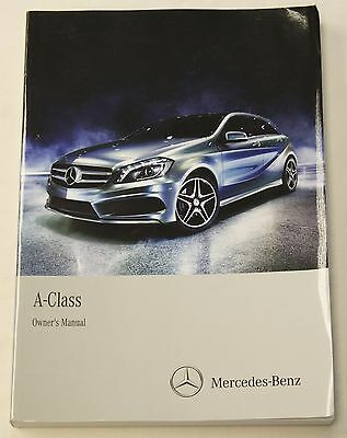 Genuine Mercedes A Class W176 Owners Manual Handbook 2012-2016 Book