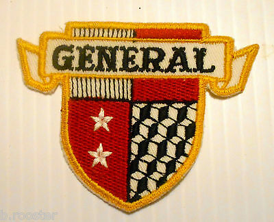 General Tires Patch Embroidered  4 inches Vintage