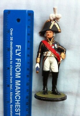 12 Cm Finely Painted Metal Model Marshal Ney ? Napoleonic Wars Prince Of Moscowa