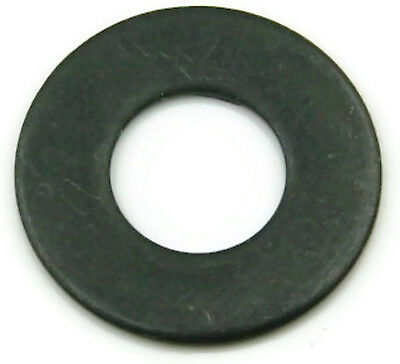 Black Oxide Stainless Steel Flat Washer 1/4, Qty 100
