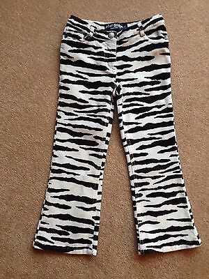 Mini Boden Girls Velour Cosy Bootleg Trousers New Age 6 Years