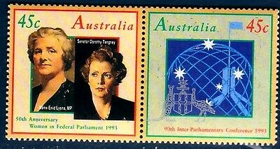Australia Sc 1340-1 NH issue of 1990 - Parlament