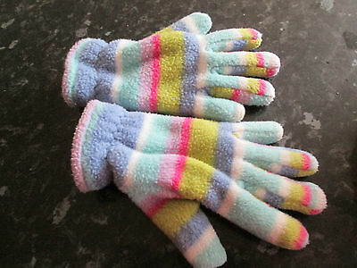 Stripy Gloves - 3-6yrs