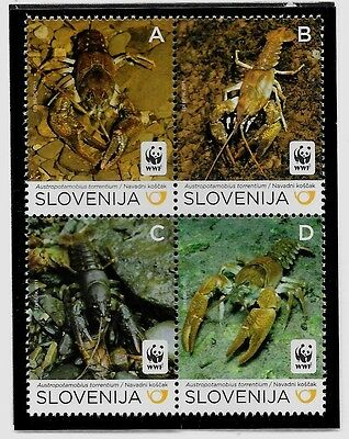 SLOVENIA Sc 896 NH issue of 2011 - WWF - SEA LIFE