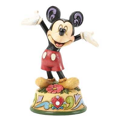 Disney Traditions October Mickey Mouse Figurine New Boxed 4033967