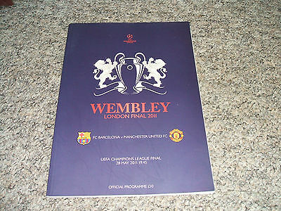 2011 Champions League Final: Barcelona V Manchester United (Excellent Condition)
