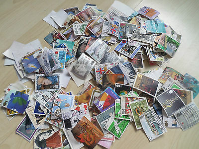 100  all different GB Commemorative stamps