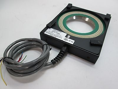 PPT Vision Light Ring 661-0295, 12VDC, 3.330 ID, 5' Cable, 8 Wire, No Plug