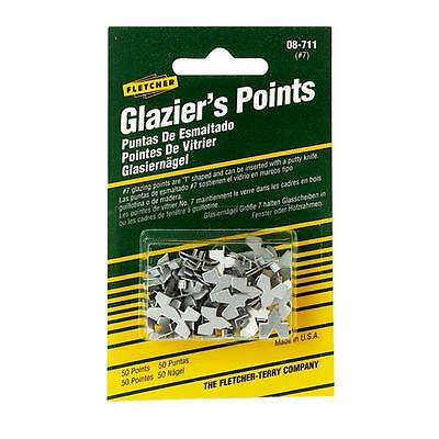 50-PACK Fletcher Terry Glazier Push Points
