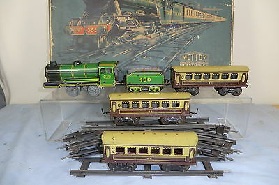 "VINTAGE METTOY MODEL No.5355   BR ""PASSENGER"" TRAIN SET      VN MIB"