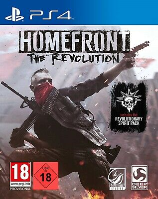 PS4 Spiel Homefront: The Revolution - Day One Edition inkl. Spirit-Pack NEUWARE