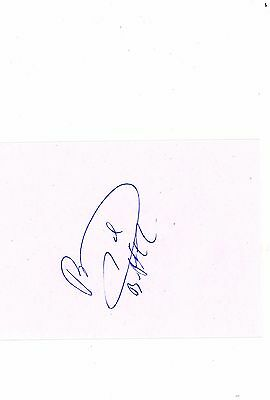 Rangers Thomas Buffel HAND SIGNED card