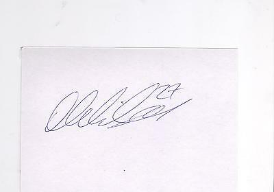 Rangers Danny Wilson HAND SIGNED card