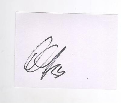Celtic Lustig HAND SIGNED card