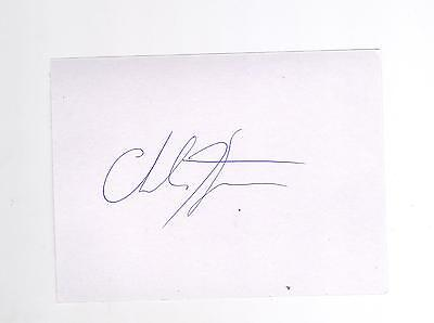 Charlie Flynn Boxer Commonwealth gold medalist HAND SIGNED card