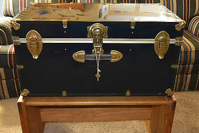 Vintage Foot Locker Trunk Steamer Chest From Sunny's Surplus Local Pu Towson Md