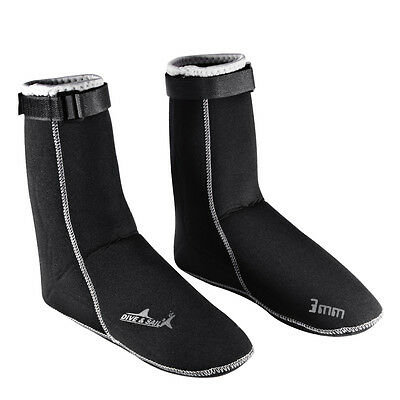 3mm Diving Scuba Surfing Swimming Socks Water Sports Snorkeling Boots L OS842