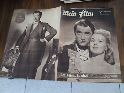 Mein Film 26 aus 1952 Cover Gregory Peck & Virginia Mayo RS Viktor de Kowa