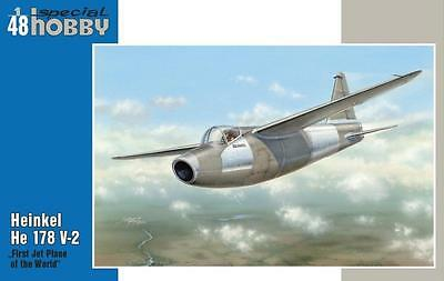 "SPECIAL HOBBY 48093 Heinkel He178V-2 ""First Jet Plane of the World"" in 1:48"