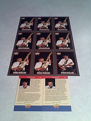 *****Merle Haggard / Noel Haggard*****  Lot of 42 cards  4 DIFFERENT