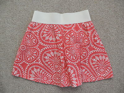 Girls Adams Patterned Skirt In A Size 7-8 Years