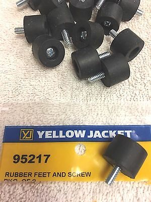 ONE (1) Yellow Jacket Recovery Unit Model 95760, Part# 95217, One Rubber Foot