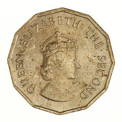 1966 Balliwick of Jersey One Fourth of a Shilling Coin [1066-1966]