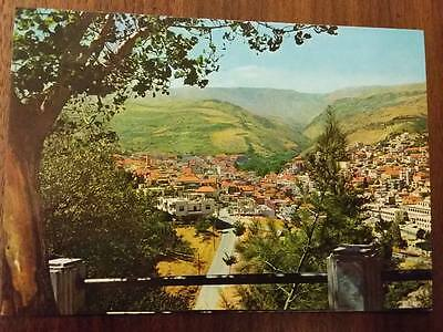 General View of The Rural City of Zahle Telko Sport Postcard Beyrouth Liban PC