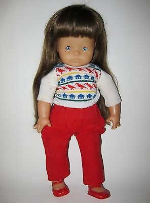 """Vintage COROLLE Doll  21"""" Made In France 1983"""