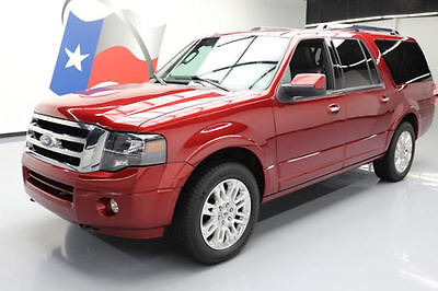 2013 Ford Expedition Limited Sport Utility 4-Door 2013 FORD EXPEDITION LTD EL 4X4 8-PASS SUNROOF NAV 49K #F57607 Texas Direct Auto