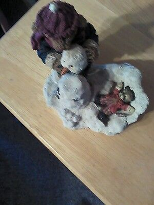 Cottage Collectibles Montey & Ricky Snow Days