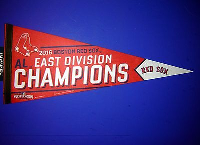 2016 Boston Red Sox MLB East Division Champions Pennant