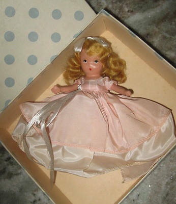 """1930's Bisque NASB Pretty Maid  where have you been #160   5"""" - org. box"""
