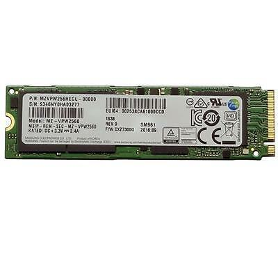 NEW! Samsung Sm961 Polaris 256Gb M.2 Nvme 80Mm Solid State Drive