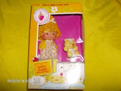 1982 Vintage STRAWBERRY SHORTCAKE BUTTER COOKIE DOLL W/PET SEALED KENNER  MINT!