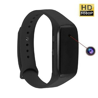 FULL HD 1080p SPORT ARMBAND MINI VERSTECKTE VIDEO ÜBERWACHUNG SPYCAM SPION A162