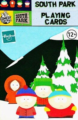 SOUTH PARK Playing Cards COMEDY CENTRAL/HASBRO 2001 USA Factory Sealed MINT