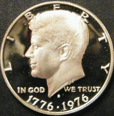 1976 S KENNEDY *PROOF* CLAD HALF DOLLAR  From US Proof Set.