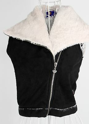 New With Tags Girl's T2LOVE Black & White Polyester Blend Casual Vest Size 14