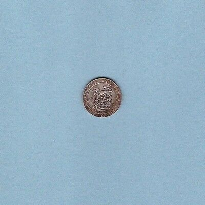 Great Britain - 1911 One Shilling (Silver Coin) - World/Foreign/Europe