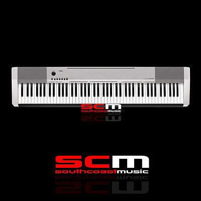 Casio Cdp130 Silver Finish 88 Weighted Keys Digital Electronic Piano Keyboard
