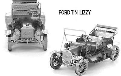 3D Puzzles FORD Tin LIZZY 3D Laser Cut Metal Miniature Xmas Baby Gift