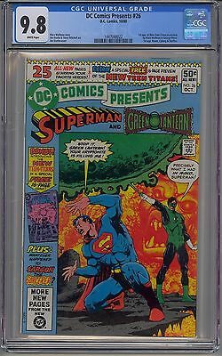 Dc Comics Presents #26 Cgc 9.8 White Pages 1St New Teen Titans